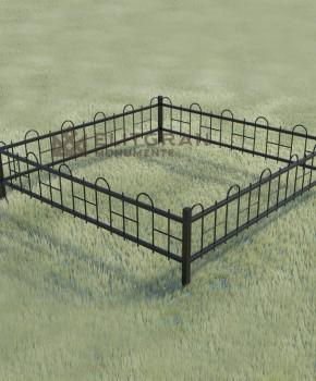 Gardul din metal #G4