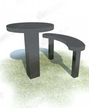 Masa și scaun pentru instalarea la cimitir 10