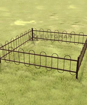 Gardul din metal #G3