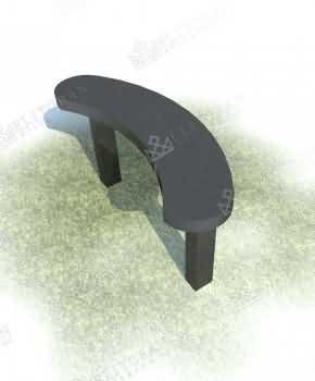 Scaun din granit cu formă nestandardă 9